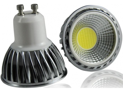 COB 7W Non-dimmable GU10 LED Spotlight