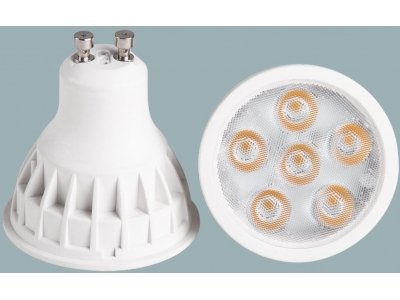 COB 5W Dimmable / Non-dimmable GU10 LED Spotlight