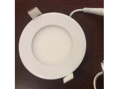 3W CE RoHS 2 Years Warranty Small Round LED Panel Light