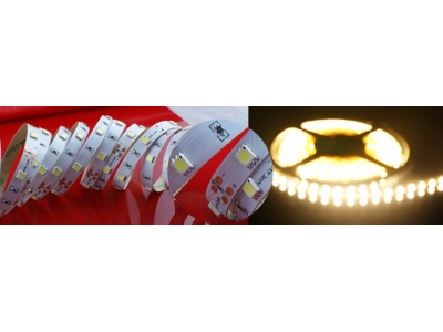 High output SMD3528 Constant Voltage Flexible LED Strip Light