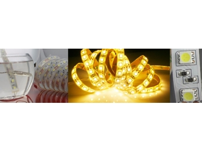 SMD5050 High Output Waterproof Flexible LED Strip Light