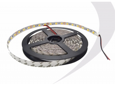 5050 SMD LED White Color Strip Light with 60LED per Meter and 3M Tape